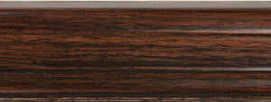 Skirting board 10126-2 / Dark Willow, Fatra