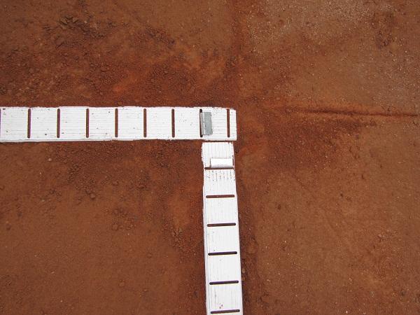 Montáž tenisové lajny 11 Fatra