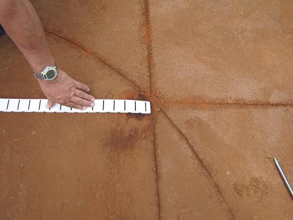 Montáž tenisových čar 3 Fatra