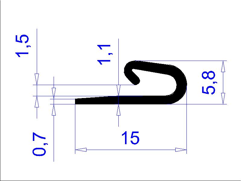 Profil H2558