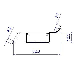 Kunststoffprofil H2747 / Fatra