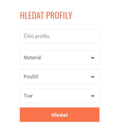 Vyhledávání v elektronickém Katalogu profilů