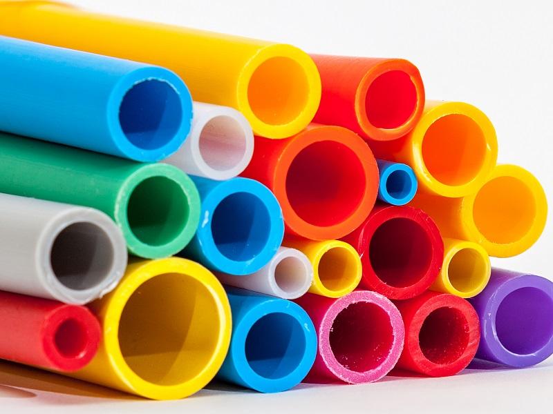 Röhren aus Polyethylen