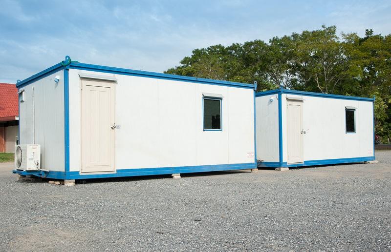 Kunststoffprofile für Wohncontainer