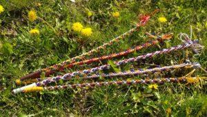 Netradiční použití bužírek z Fatry – velikonoční tatar