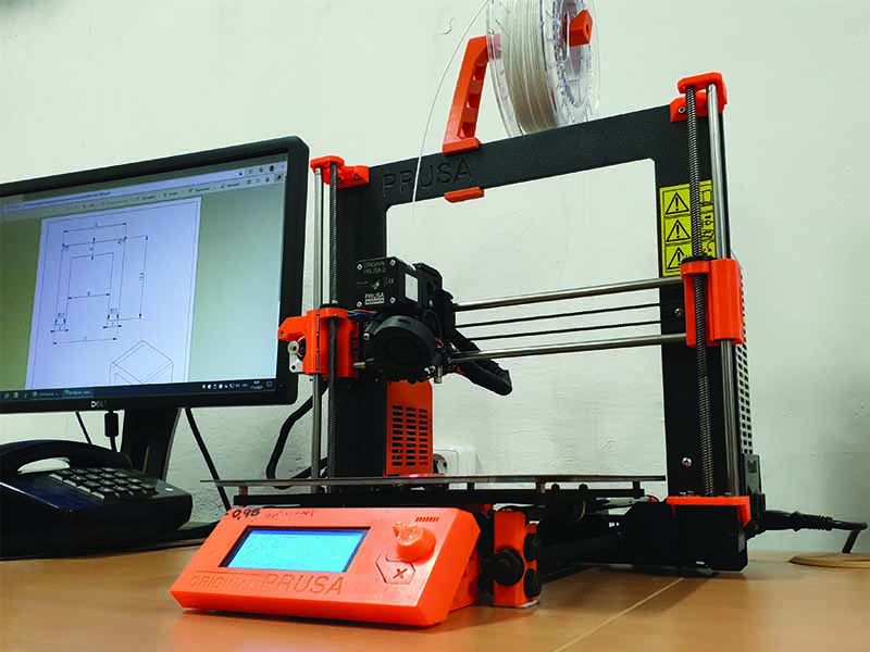 3D tiskárna pro výrobu prototypů profilů